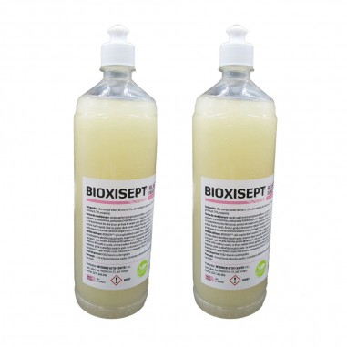 Pachet 2buc. Bioxisept Gel Dezinfectant pentru maini, fara clatire cu efect antiseptic, 1l