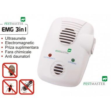 Aparat anti aunatori Repel EMG 3IN1