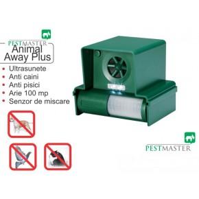 Dispozitiv portabil impotriva cainilor si pisicilor - Animal Away Plus