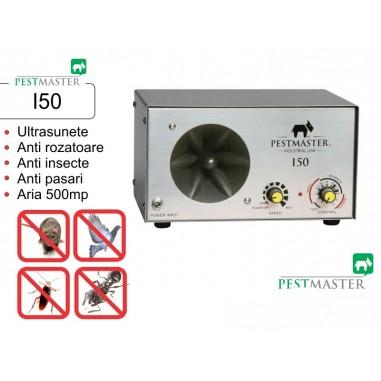 Aparat industrial cu ultrasunete impotriva rozatoarelor, pasarilor si insectelor - Pestmaster I50 - 500mp