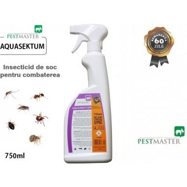 Insecticid de soc pentru combaterea insectelor taratoare si zburatoare - Aquasektum 750 ml