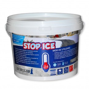 STOP ICE-produs biodegradabil pentru prevenire combatere gheata 2,5kg