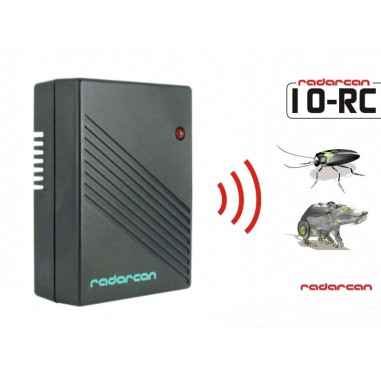 Aparat portabil cu ultrasunete impotriva soarecilor si gandacilor Radarcan 10RC - 20 mp