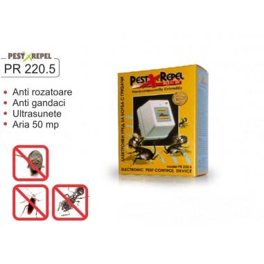 Aparat anti gandaci si anti soareci cu ultrasunete - PR220.5 - 50 mp