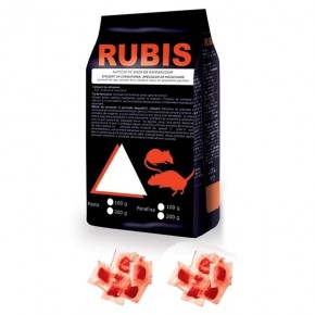 Rubis pasta rosie 10kg 10gr plic