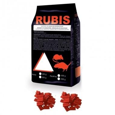 Rubis parafina baton cerat 10kg 30gr/ bloc