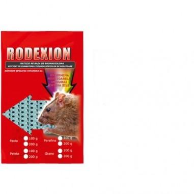 Momeala raticida micropelete pentru combatere rozatoare Rodexion 400gr