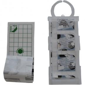 Capcana adeziva anti molii de cereale cu feromoni Geo Pad