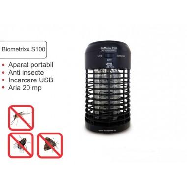 Aparat anti insecte Biometrixx S100 (conectare USB) - acopera aprox. 20 mp
