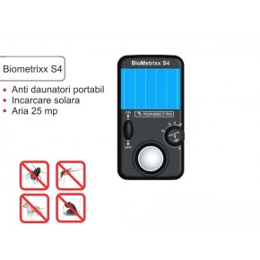 Aparat solar impotriva insectelor - Biometrixx S4
