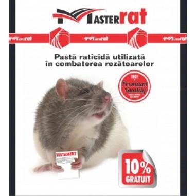 Pasta raticida rosie pentru combaterea soarecilor si sobolanilor MaterRat 200gr