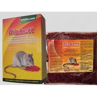 Biokett Pak rodenticid sub forma de boabe de cereale impregnate  200gr