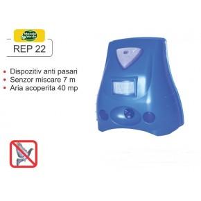 Aparat anti-daunatori cu senzor de miscare si lampa stroboscopica - REP 22