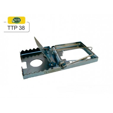 Capcana mecanica pentru soareci Metal Trap Miny TTP38 (set 2 buc)