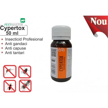 Insecticid universal  Cypertox 50 ml