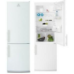 Combina frigorifica Electrolux EN3600AOW, alb, 245 / 92, 314 kWh/an