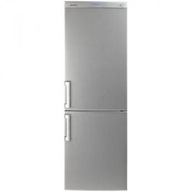 Combina frigorifica Arctic AK346BS+, 340 L, clasa A+, argintiu