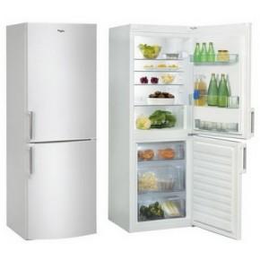 Combina frigorifica Whirlpool WBE3114 W, 1 compresoare, alb, 194 / 116, 297 kWh/an