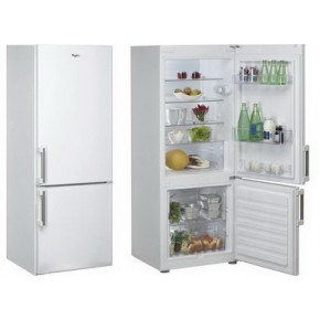 Combina frigorifica Whirlpool WBE 2614 W, 1 compresoare, alb, 248 kWh/an