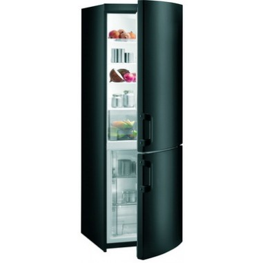 Combina frigorifica Gorenje RK 61810 B, 1 compresoare, negru, 230 / 92, 0.8 Consum energie (kWh)