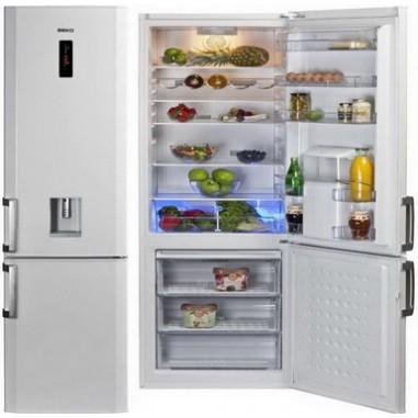 Combina frigorifica Beko DBKEN386WD+, 1 compresoare, alb