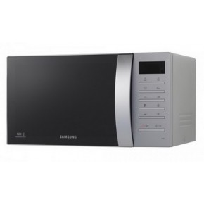Cuptor cu microunde Samsung GE86V-SS, 23 litri, 800 W, tactil, Grill