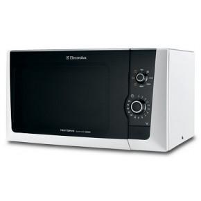 Cuptor cu microunde Electrolux EMM21150W, 18.5 litri, 800 W, mecanic, Grill