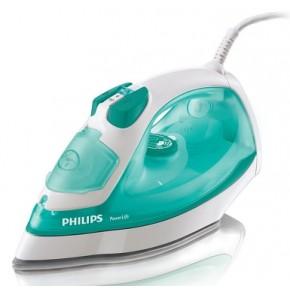 Fier de calcat Philips GC2920/02, 2100 W, 300 ml, 35 g/m, variabil, 95 g/m, Jet de apa / spray, dublu activ, Sistem anti-picurare, Abur vertical