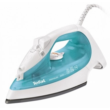 Fier de calcat PrimaGliss Tefal FV2530, 1900 W, 270 ml, 40 g/m, variabil, Jet de apa / spray, Sistem anti-calcar, Abur vertical