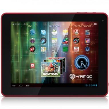 Tableta Prestigio MultiPad 9.7i Ultra Duo 5597 red, 16 GB, 8 ore video, 36 ore audio, 120 ore stand-by, 9.7``, 1024 x 768, 802.11b/g/n