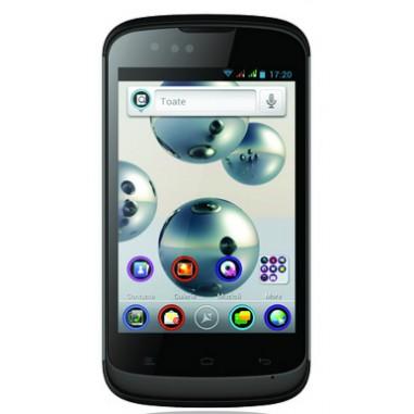 Smartphone Dual Sim Allview P5 Mini DUO black, 3.95``, 3 Megapixeli, 4 GB, Dual-core 1 GHz Cortex-A9, Android 4.0.4 (Ice Cream Sandwich)