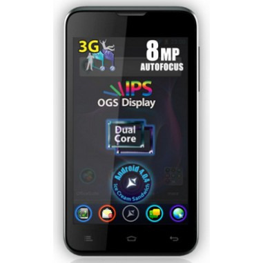 Smartphone Dual Sim Allview P5 Alldro black, 4.3``, 8 Megapixeli, 2 GB, Dual-core 1 GHz Cortex-A9, Android 4.0.4 (Ice Cream Sandwich)