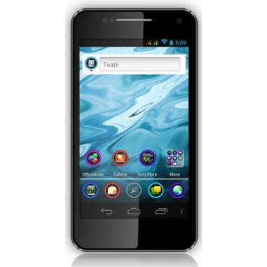 Smartphone Dual Sim Allview P4 DUO black, 4.3``, 8 Megapixeli, 4 GB, Dual-core 1 GHz Cortex-A9, Android 4.0.4 (Ice Cream Sandwich)