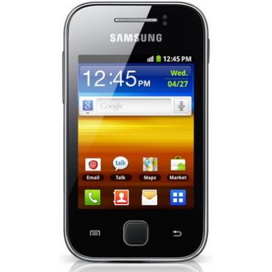 Smartphone Samsung S5360 Galaxy Y Mettalic Grey, 3``, 2 Megapixeli, 160 MB, 832 MHz, Android 2.3 Gingerbread