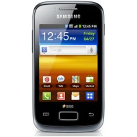 Smartphone Samsung S6102 Galaxy Y Duos Black, 3.14``, 3 Megapixeli, 512 MB, 832 MHz, Android 2.3 Gingerbread