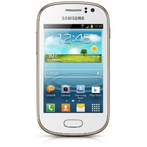 Smartphone Samsung S6810 Galaxy Fame White, 3.5``, 5 Megapixeli, 4 GB, ARM Cortex A9 @ 1 GHz, Android v4.1.2 (Jelly Bean)
