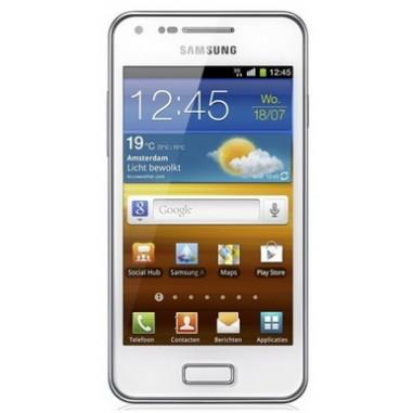 Smartphone Samsung i9070 Galaxy S Advance White, 4``, 5 Megapixeli, 8 GB, Dual-core 1 GHz Cortex-A9, Android, v2.3.6 Gingerbread
