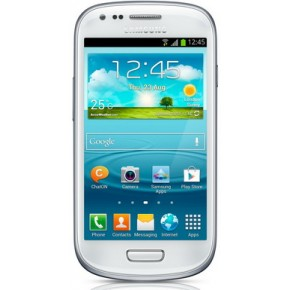 Smartphone Samsung I8190 Galaxy S3 Mini White, 4``, 5 Megapixeli, 8 GB, Dual-core 1 GHz, Android 4.1 (Jelly Bean)