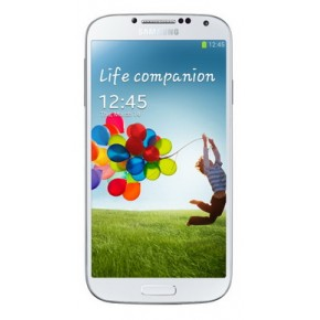 Smartphone Samsung I9505 Galaxy S4 white frost, 5``, 13 Megapixeli, 16 GB, Quad-core 1.9 GHz Krait 300, Android OS, v4.2.2 (Jelly Bean)