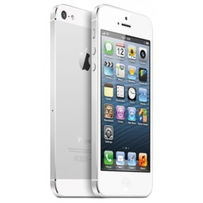 Smartphone iPhone 5 16GB white and silver, 4``, 8 Megapixeli, Dual-core 1.2 GHz, iOS 6