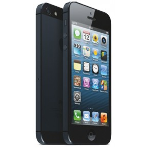 Smartphone iPhone 5 16GB black & slate, 4``, 8 Megapixeli, Dual-core 1.2 GHz, iOS 6