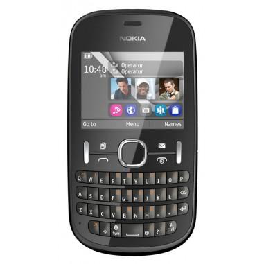 Telefon mobil Nokia 200 Asha Dual Sim black, 2 MP, Monobloc, 240x320 pixeli