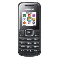 Telefon mobil Samsung E1050 Black, Monobloc, 128x128 pixeli