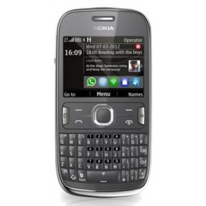 Nokia 302 Asha, 2.4``, 3.15 Megapixeli, 100 MB, 1 GHz, 40 Asha