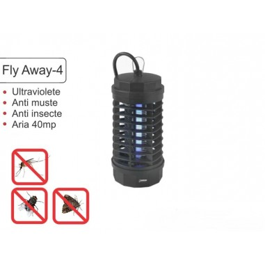 Aparat anti insecte muste tantari Fly Away 4