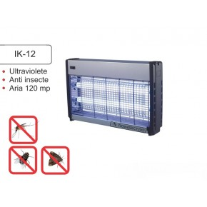 Mini distrugator insecte cu lampi UV pentru terase IK 12