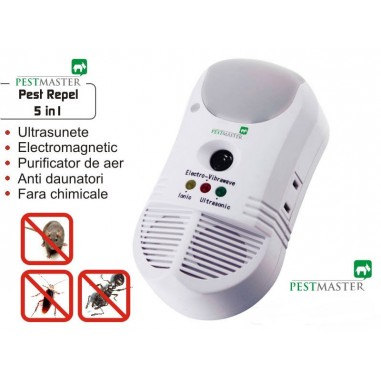Aparat anti daunatori si purificator de aer Pestmaster 5in1